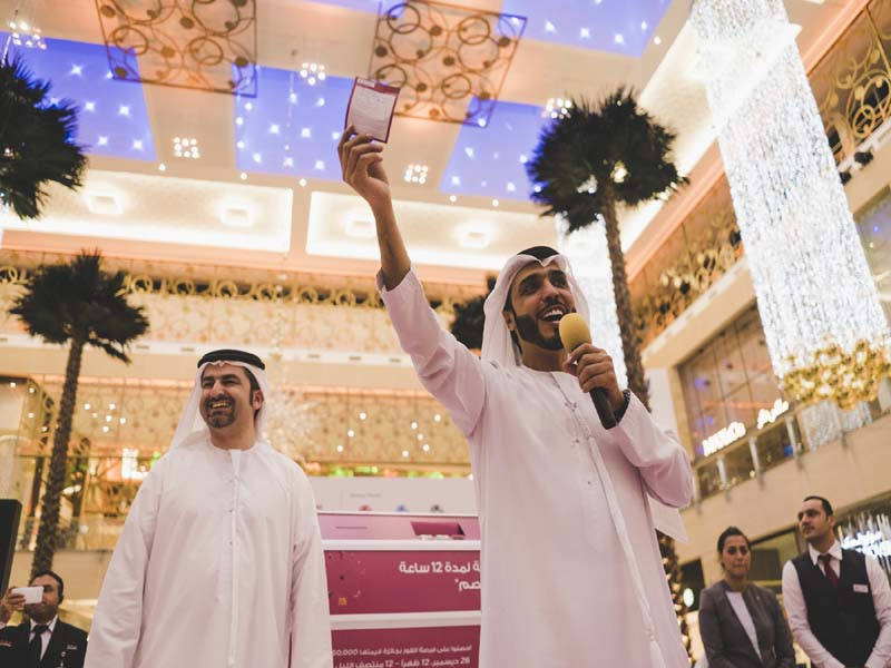 Majid Al Futtaim malls shopper walks away with AED 50,000 during exclusive DSF 12-hour flash sale