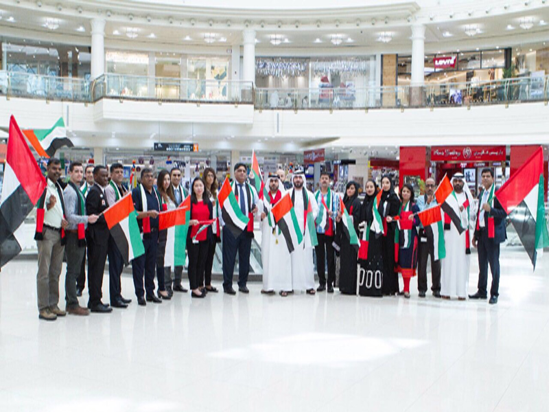 Majid Al Futtaim malls fly UAE flag for national pride